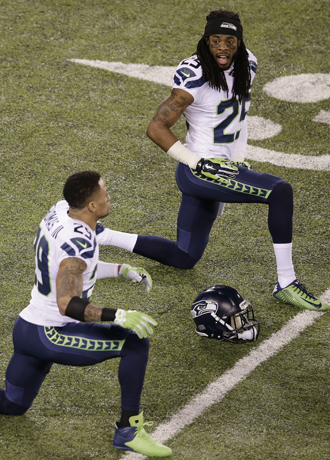 Richard Sherman,Earl Thomas