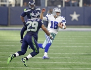 01 November 2015:    Views     of the Dallas Cowboys during the Cowboys 13-12 loss to the Seattle Seahawks at AT&T Stadium in Arlington, Texas.  Photo by Sam Smith/Dallas Cowboys
