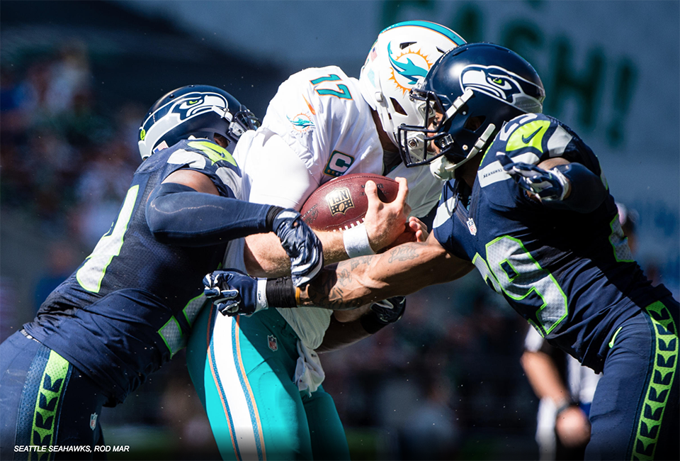 Hawks Down Dolphins in Defensive Struggle