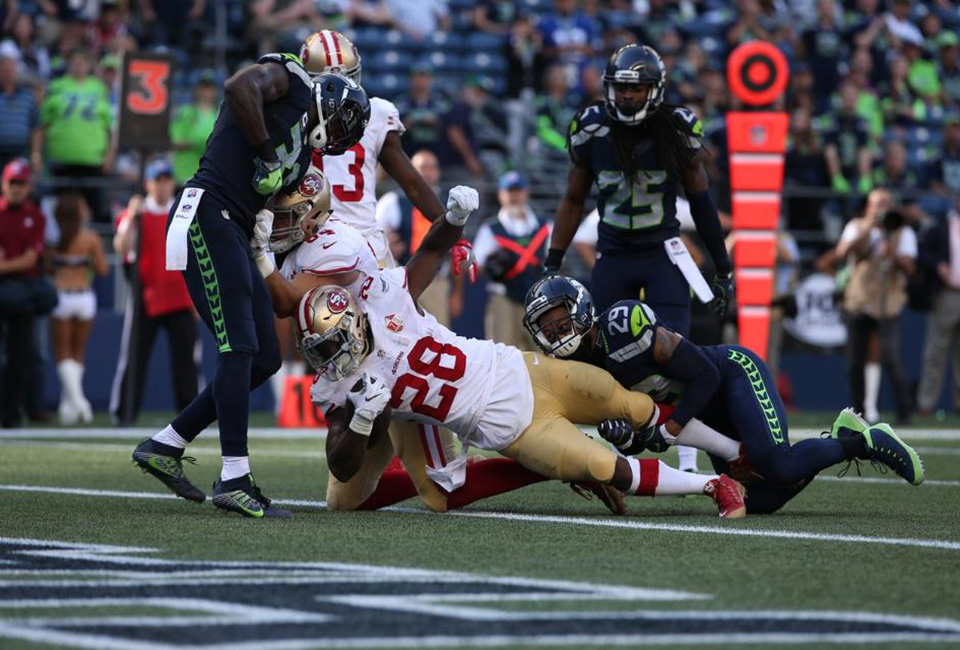 Seahawks Rout Niners in NFC West Battle