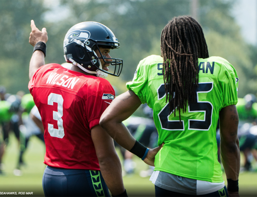 Sherman Bows Down to ET at Camp