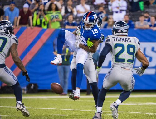 Seahawks, No. 29 Topple the Giants