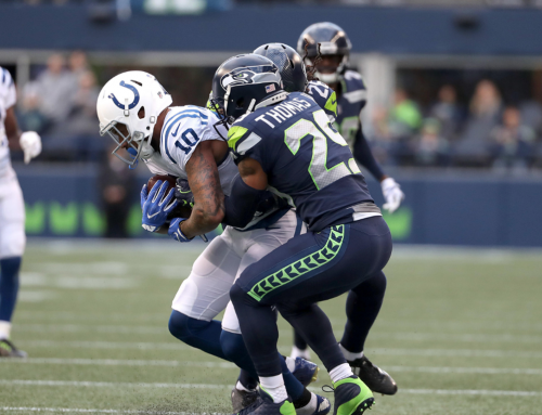Seahawks D Overwhelms Indy