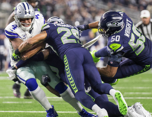 Earl, Hawks Defense Lead Seattle Over Big D